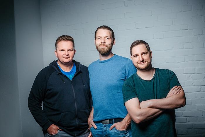 Das foreControl Team - Von Links: Joerg Tetenborg, Andreas Brunsmann, Lukas Niehaus